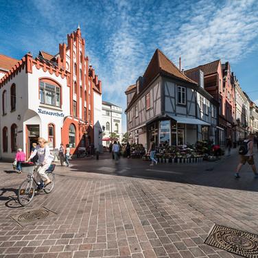 Старый город, Висмар Old Town, Wismar