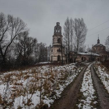 Намесково, Тверская область. Троицкая церковь, 1802-1811  Nameskovo, Tver region. Trinity church, 1802-1811