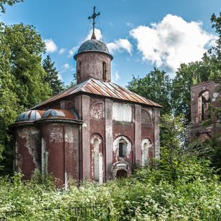 Юркино, Московская область. Рождественская церковь, 1498  Yurkino, Moscow region. Church of the Nativity of Christ, 1498