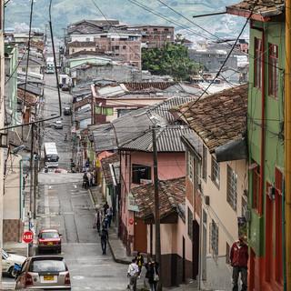Крутые улицы Манисалеса Steep streets of Manizales