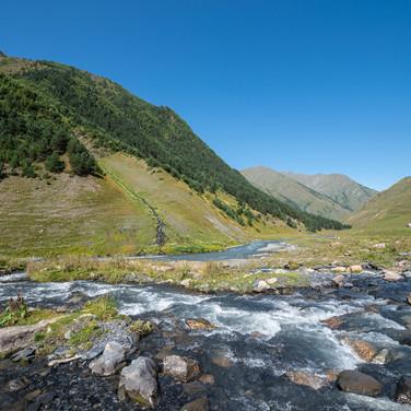 Пирикитская Алазани  Pirikitis Alazani river