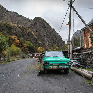 Деревня Шатили Shatili village