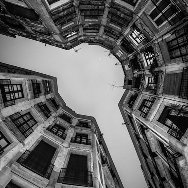 Сустав улицы, Барселона Joint of a street, Barcelona
