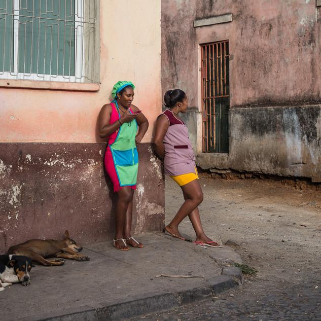 Ассомада, остров Сантьягу, Кабо-Верде Assomada, Santiago island, Cape Verde