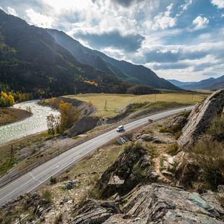 Река Чуя и Чуйская долина Chuya river and Chuya Valley