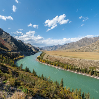 Река Катунь Katun river