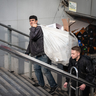 Стамбульский мусорщик  An Istanbul's dustman