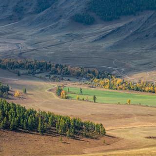 Долина реки Малый Ильгумень Valley of Little Ilgumyen river