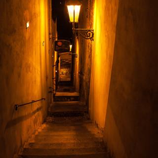 Лестница между Лоретанской и Увозом, Градчаны Steps between Loretanská ana Úvoz streets, Hradčany
