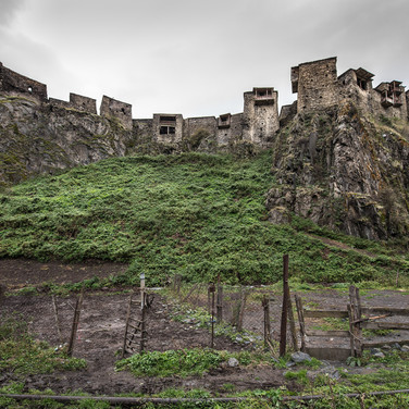 Деревня-крепость Шатили, Хевсуретия The fortress village of Shatili, Khevsureti region
