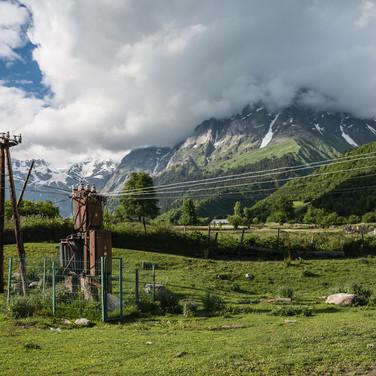 Сванское электричество Svaneti's electricity