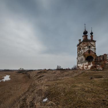 Весь, Владимирская область. Троицкая церковь, 1769-1817  Ves', Vladimir region. Trinity church, 1769-1817