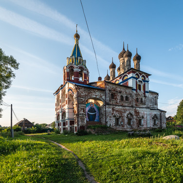Подолец, Владимирская область. Троицкая церковь, 1659  Podolets, Vladimir region. Trinity church, 1659