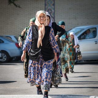 Местные туристы, Самарканд Local tourists, Samarkand
