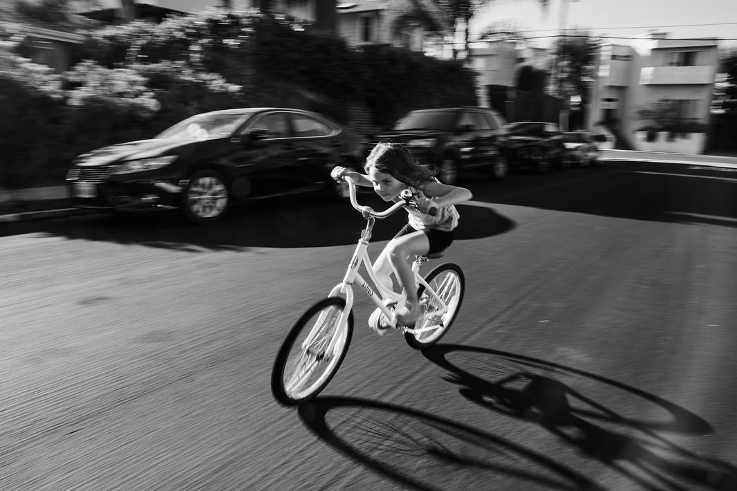 Magic on a bike