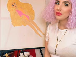 New Painting (Wet'N'Wild Barbie)