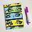 Thumbnail: of Pop Art Eyes (Green) Small Spiral Notebook
