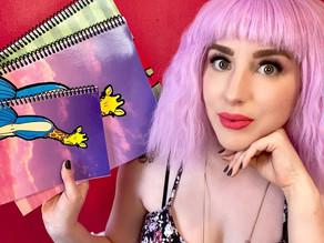 Pop Art Spiral Notebook Pre-orders Coming Soon!