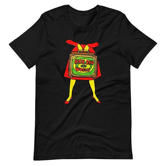 Sick, Sad World Short-Sleeve Unisex T-Shirt