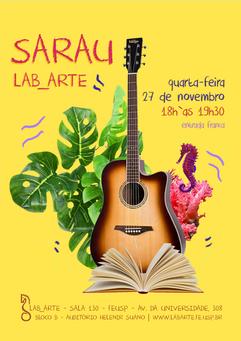 Agenda | 27/11 | Sarau Lab_Arte
