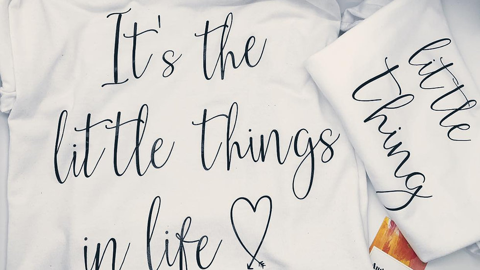 Mommy & Me - The Little Things