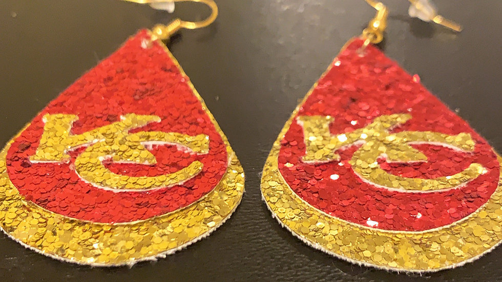 KC Chiefs Earrings
