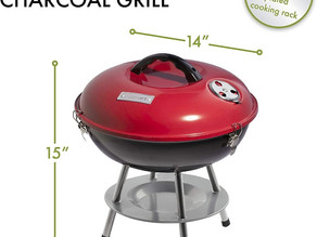 Cuisinart Portable Charcoal Grill 14-inch $20.99