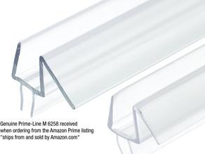 Frameless Shower Door Bottom Seal $10.79 << $20