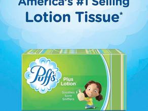 Puffs Plus Lotion Facial Tissues 8-Box (960 Tissues) $10.89