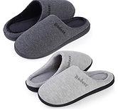 Women's Soft Fleece Lining Warm Slipper X 2-Pair $12.99 (50% Off coupon)