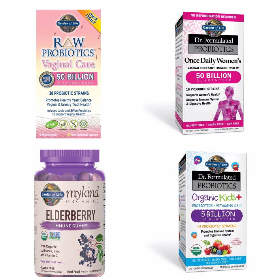 Garden of Life Vitamins & Supplements on Sale + Promo Code