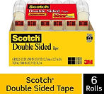 Scotch Double Sided Tape 6-Roll $9.98  [Best Price]