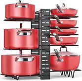 Pan Organizer Rack with 3 DIY Methods $16.99 << $29.99