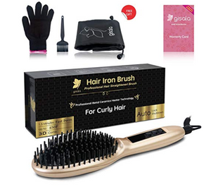 Hair Straightening Brush for curly hair Kongdeals 콩딜이 제공하는 핫딜, hot deals, 할인쿠폰, 아마존 할인코드, 아마존 쿠폰 코드, 무료 공짜 선물등 다양한 쇼핑 정보를 친구들과 널리 공유해 주세요~!