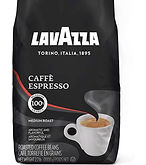 Lavazza Caffe Espresso Medium Roast Whole Bean Coffee 2.2-lb. $13.95 ( 30% Off)
