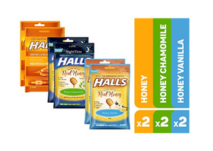 Halls Cough Drop 6 packs Kongdeals 콩딜은 핫딜, hot deals, 할인쿠폰,아마존 할인코드,  아마존 쿠폰 코드, coupons, coupon code, promo code, freesbees,  무료 선물등  특별히 선별된 미국 쇼핑채널 및  브랜드 정보를  매일 공유합니다.