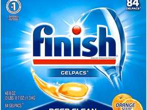 [$5 Off] Finish All in 1Dishwasher Detergent Tablets 84-ct X 2-Pk