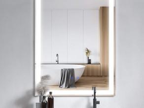 Bathroom Mirror with LED Lights $113.99 << $189.99