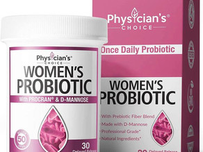 Physician's Choice Prebiotics & Probiotics for Women  $12.29 << $22.24