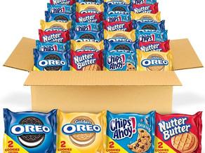 Nabisco Cookie Snack Pack 56-Pack $10.24