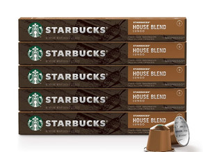 Starbucks by Nespresso, House Blend (50-count) Capsules $23.67 (47¢ /each)