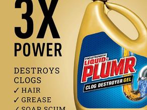 Liquid-Plumr Pro-Strength Full Clog Destroyer Gel 80-oz $6.77