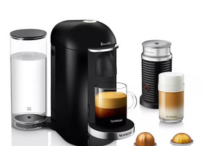 Nespresso by Breville VertuoPlus Deluxe Espresso Maker with Milk Frother $129.99 (72% Off)