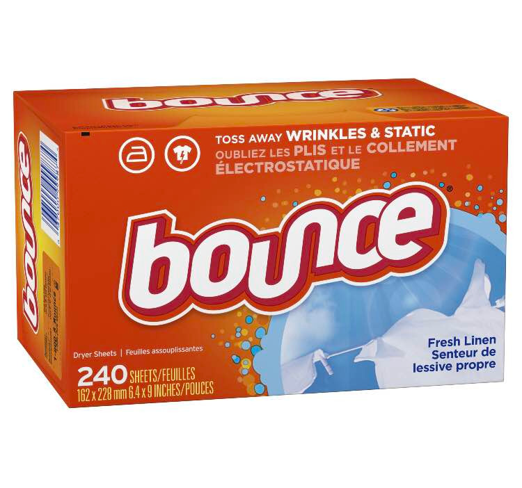 Amazon Coupon | Bounce Fabric Softener Dryer Sheet, Fresh Linen