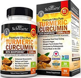 Turmeric Curcumin with BioPerine1500mg (90-capsules) $12.13 (35% Off)