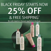 AVEDA 25% off sitewide + Hair Care Mini Trio Gift with $65+