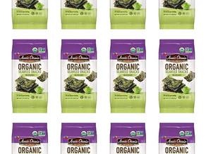 Annie Chun's Organic Seaweed, Wasabi, 12-Ct $5.22 [Best Price]