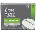Dove MEN + CARE Extra Fresh Bar Soap 14-Ct $9.48