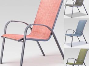 착착 포개서 보관하는 실용적인 Patio Chair $12.83불 / Target 추가 25% 할인 / 스토어 픽업 ONLY (6/25일까지)