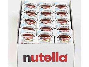 Nutella Chocolate Hazelnut Spread 0.52 oz Single Serve Mini Cups 120-Ct $21.83 [Best Price]